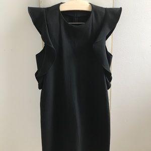 Zara Black Cocktail Dress, Size XS